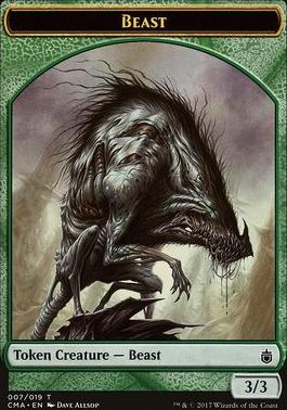 Commander Anthology: Beast Token (3/3)
