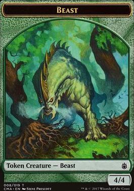 Commander Anthology: Beast Token (4/4)