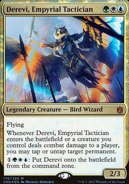 Commander Anthology: Derevi, Empyrial Tactician (Foil)