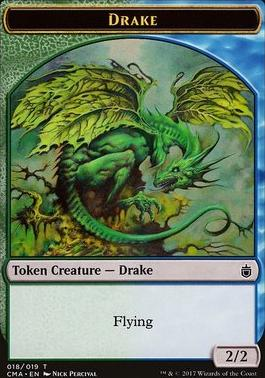 Commander Anthology: Drake Token