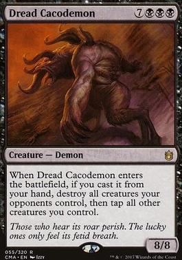 Commander Anthology: Dread Cacodemon