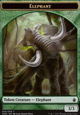 Commander Anthology: Elephant Token