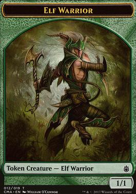 Commander Anthology: Elf Warrior Token