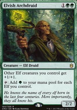 Commander Anthology: Elvish Archdruid