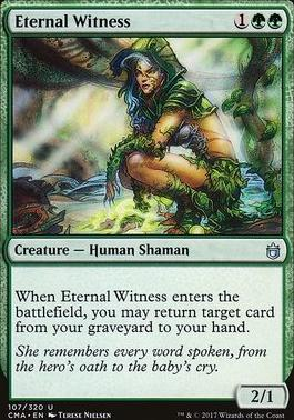 Commander Anthology: Eternal Witness