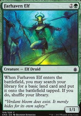 Commander Anthology: Farhaven Elf
