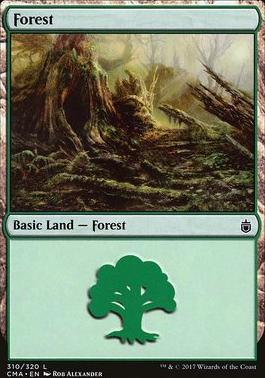 Commander Anthology: Forest (310 B)