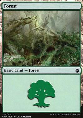 Commander Anthology: Forest (316 H)