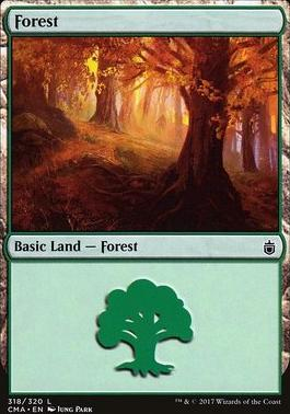 Commander Anthology: Forest (318 J)