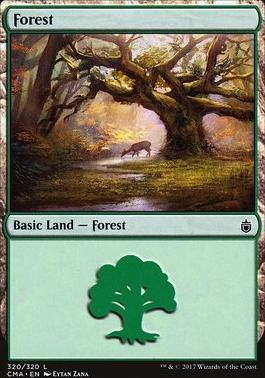 Commander Anthology: Forest (320 L)