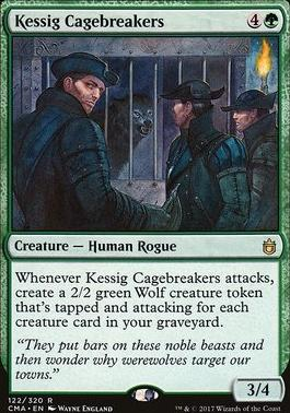 Commander Anthology: Kessig Cagebreakers