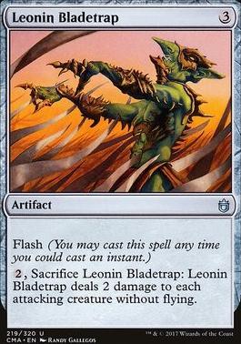 Commander Anthology: Leonin Bladetrap