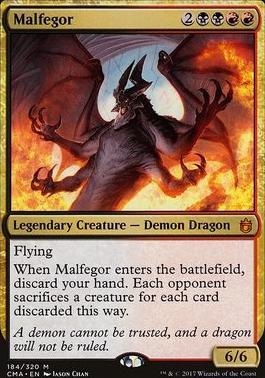 Commander Anthology: Malfegor