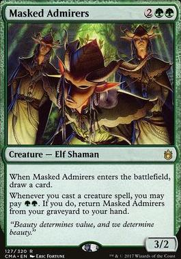 Commander Anthology: Masked Admirers