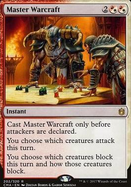 Commander Anthology: Master Warcraft