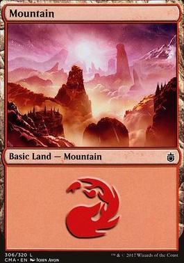 Commander Anthology: Mountain (306 B)