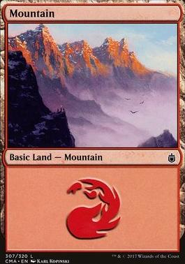 Commander Anthology: Mountain (307 C)