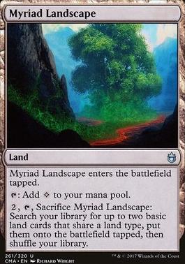 Commander Anthology: Myriad Landscape