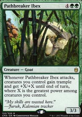 Commander Anthology: Pathbreaker Ibex