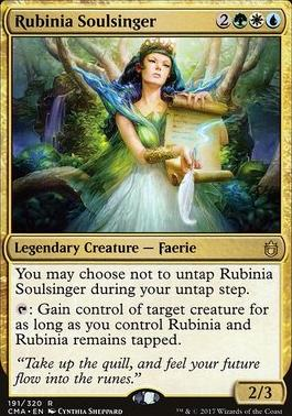 Commander Anthology: Rubinia Soulsinger