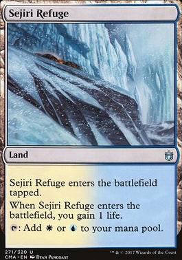 Commander Anthology: Sejiri Refuge