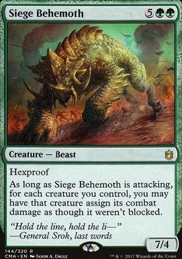 Commander Anthology: Siege Behemoth