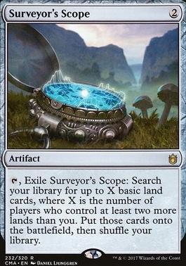 Commander Anthology: Surveyor's Scope