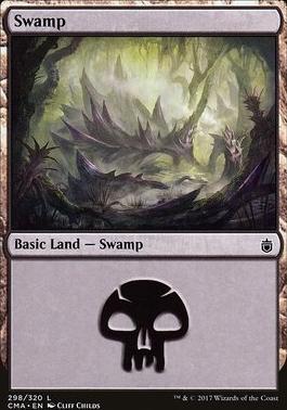 Commander Anthology: Swamp (298 B)