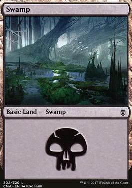 Commander Anthology: Swamp (302 F)