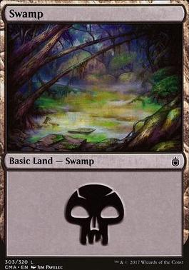 Commander Anthology: Swamp (303 G)