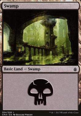 Commander Anthology: Swamp (304 H)