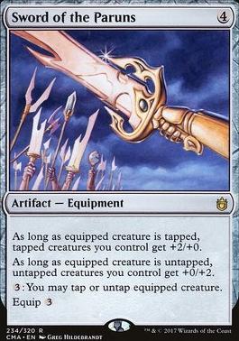 Commander Anthology: Sword of the Paruns