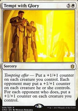 Commander Anthology: Tempt with Glory