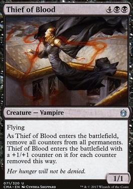 Commander Anthology: Thief of Blood