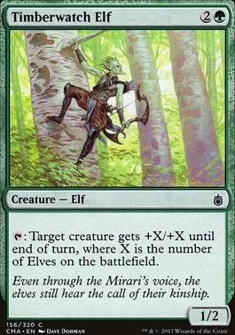Commander Anthology: Timberwatch Elf