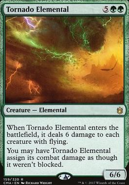 Commander Anthology: Tornado Elemental