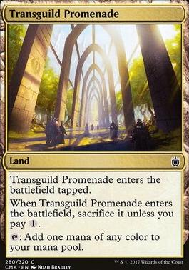 Commander Anthology: Transguild Promenade