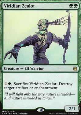 Commander Anthology: Viridian Zealot