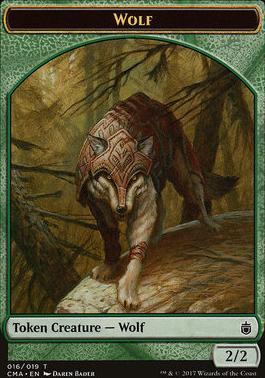 Commander Anthology: Wolf Token (Bader)