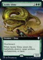 Commander Legends Variants: Acidic Slime (Extended Art)