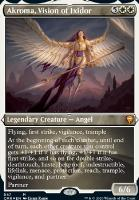 Commander Legends Variants: Akroma, Vision of Ixidor (Foil-Etched)