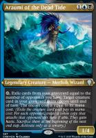 Commander Legends Variants: Araumi of the Dead Tide (Foil-Etched)