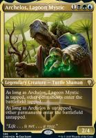Commander Legends Variants: Archelos, Lagoon Mystic (Foil-Etched)