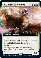 Commander Legends Variants: Archon of Coronation (Extended Art)