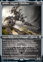 Commander Legends Variants: Armix, Filigree Thrasher (Foil-Etched)