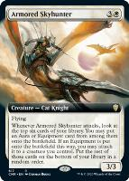Commander Legends Variants Foil: Armored Skyhunter (Extended Art)