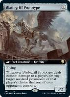 Commander Legends Variants Foil: Bladegriff Prototype (Extended Art)