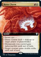 Commander Legends Variants Foil: Boros Charm (Extended Art)
