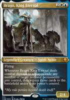 Commander Legends Variants: Brago, King Eternal (Foil-Etched)
