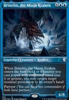 Commander Legends Variants: Brinelin, the Moon Kraken (Foil-Etched)